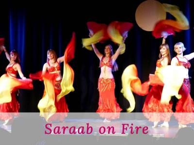 Saraab on Flames